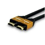 HDMIケーブル 2.0m (ゴールド) ECOパッケージ HDM20-883GD-2 2個セット