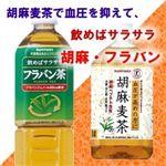 胡麻フラバンセット 胡麻麦茶(1L×24本)+フラバン茶(900ml×24本)  計48本セット