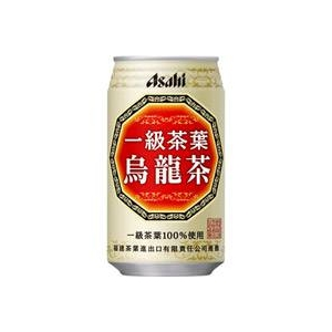 アサヒ 一級茶葉烏龍茶 340g缶 72本セット (3ケース)