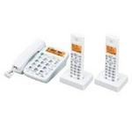 シャープ コードレス電話機(子機2台) JD-320CW