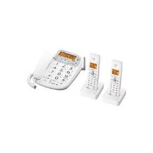 シャープ コードレス電話機(子機2台) JD-V33CW