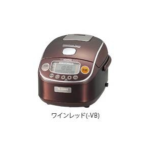 象印 真空内釜圧力IH炊飯ジャー3合【極め炊き】NP-RC05
