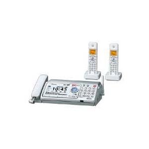 シャープ FAX(子機2台)【普通紙】UX-D90CW