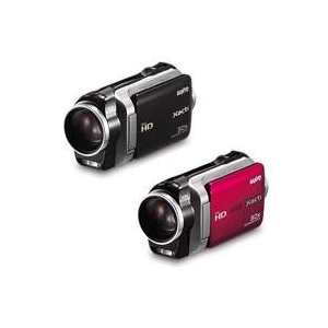 サンヨー デジタルムービーカメラ DMX-SH11 レッド(R)