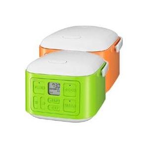サンヨー 3合炊飯器 ECJ-XQ30 オレンジ(D)
