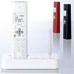 シャープ コードレス電話機 JD-S10CL レッド