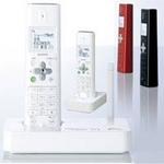 シャープ コードレス電話機(子機2台) JD-S10CW レッド
