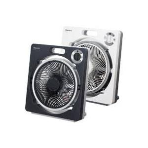 モリタ電工 扇風機(ボックス扇) MF-X25B ブラック(K)