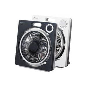 モリタ電工 扇風機(ボックス扇) MF-XR25B ホワイト(W)