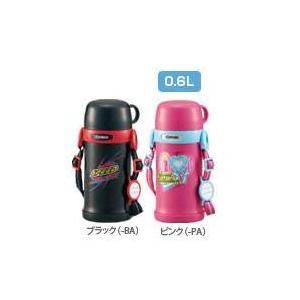 象印 ステンレスボトル0.6L【タフボーイ保温保冷】 SC-MT60 ブラック(BA)
