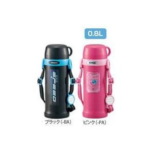 象印 ステンレスボトル0.8L【タフボーイ保温保冷】 SC-MT80 ピンク(PA)