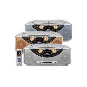 シャープ MD/CD/カセット SD-FX200 ブルー