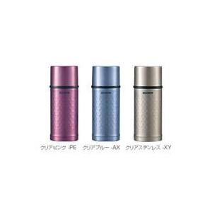 象印 ステンレスボトル0.35L【TUFF保温保冷】 SV-HA35 クリアピンク(PE)