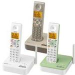 サンヨー デジタルコードレス留守番電話 TEL-DJ3 グレイスホワイト