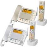 サンヨー デジタルコードレス留守番電話 TEL-DJ5 ゴールド