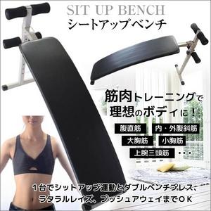 メタボ対策にも シットアップベンチ(腹筋 背筋 腕立 筋トレに)