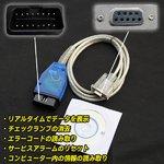 VOLVO ボルボ用 OBD2 コードリーダー 診断機 C70/S40/V40/S70/V70/S90/V90