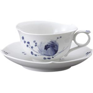 マイセン 青い花 ティーカップ&ソーサー