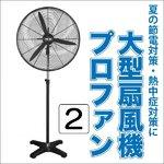 【訳あり(サビ・箱つぶれ)】大型扇風機 プロファン2