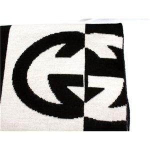 GUCCI(グッチ) マフラー 183096-3G206 1062 WHITE/BLACK