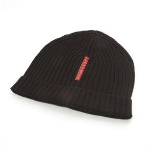 ブランドニット帽  PRADA(プラダ) NERO