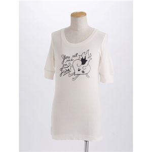 MARK BY MARK  JACOBS(マークバイマークジェイコブス) レディースプリントTシャツ 60042【ライトピンク】S