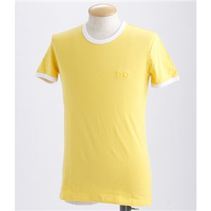 D&G(ディー&ジー) Tシャツ(2枚セット) /ブラック&イエロー S