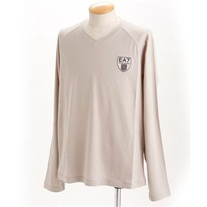EMPORIO ARMANI(エンポリオ アルマーニ) ロゴプリントロングTシャツ 273070-0S219/【A】グレーL