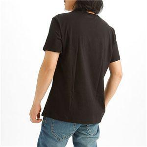 EMPORIO ARMANI(エンポリオ アルマーニ) ロゴプリントTシャツ 211067-0S454/【A】ブラック48