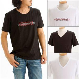 EMPORIO ARMANI(エンポリオ アルマーニ) ロゴプリントTシャツ 211067-0S454/【A】ホワイト50