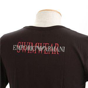 EMPORIO ARMANI(エンポリオ アルマーニ) ロゴプリントTシャツ 211319-0S454/【B】ブラック52