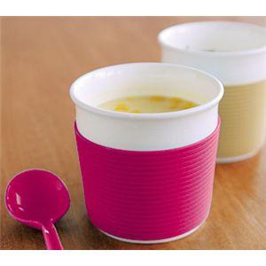 ReCUP スープカップ ピンク 【2個セット】
