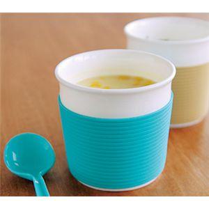 ReCUP スープカップ ブルー 【2個セット】