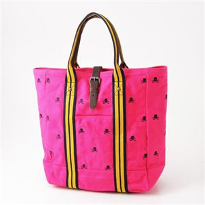 Ralph Lauren(ラルフローレン) スカル刺繍 トートバッグ RUGBY TOTE PINK