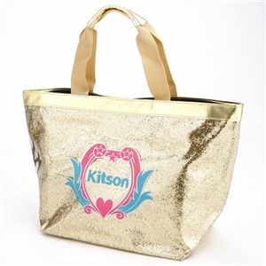 kitson(キットソン) クレスト グリッター トート GOLD