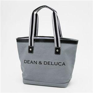 DEAN&DELUCA(ディーン&デルーカ) キャンバス トートバッグ MEDIUM GREY