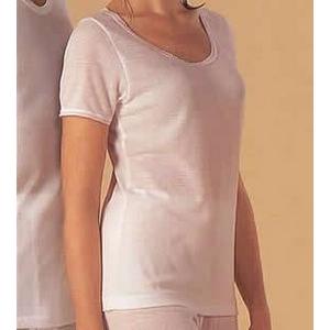 汗とり肌着(帝人テビロン使用)婦人三分袖インナー L