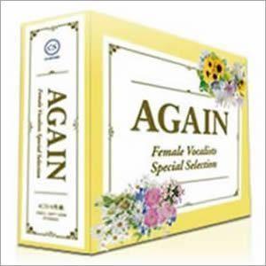 邦楽 オムニバス コンピレーションCDアルバム 【AGAIN  アゲイン 】(CD4枚組 全72曲)歌詞カード 収納BOX付