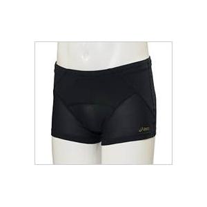 asics(アシックス)腰バランスショートタイツ メンズ ブラック Oサイズ