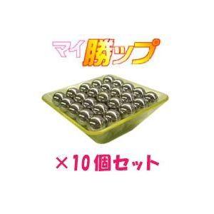 パチンコ玉50発簡単計量! マイ勝ップ(マイカップ) イエロー 【10個セット】