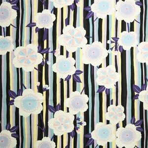 coco−cloth小風呂敷 縞桜 紫