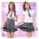 コスプレ フリルスカートの学生服*セーラー服*OL服