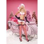 【サンタクロース コスプレ 衣装】コスプレ ガーターベルト&グローブ付クリスマスサンタさん