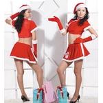 【サンタクロース コスプレ 衣装】コスプレ クリスマス*グローブ付サンタコスプレ