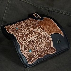 カービング ウォレット プレミアムシリーズ レザー 長財布 ライダーH0195