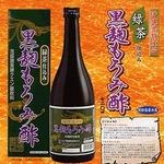 緑茶仕込み 黒麹もろみ酢 720ml×2本セット