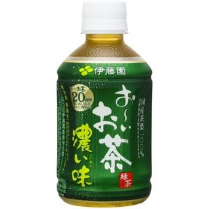 伊藤園 おーいお茶 濃い味 280ml 48本セット