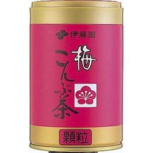 【ケース販売】伊藤園 梅こんぶ茶【50g×20缶セット】 まとめ買い