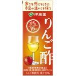【ケース販売】伊藤園 機能性表示食品 紙りんご酢200ml×48本セット