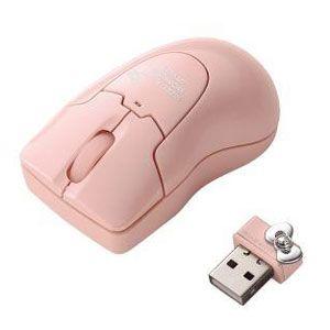 エレコム ワイヤレスレーザー式マウス(ピンク) HELLO KITTY[ M-BGDLKTPN ]